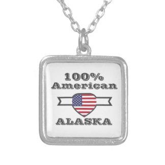 100% Amerikaner, Alaska Versilberte Kette