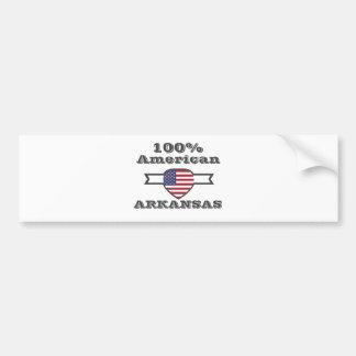 100% Amerikaner, Arkansas Autoaufkleber