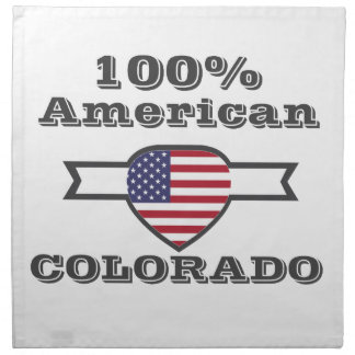 100% Amerikaner, Colorado Serviette