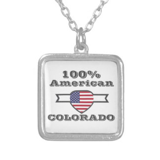 100% Amerikaner, Colorado Versilberte Kette
