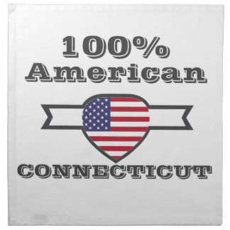 100% Amerikaner, Connecticut Stoffserviette