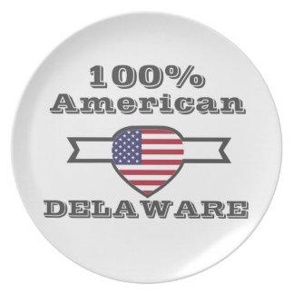 100% Amerikaner, Delaware Melaminteller