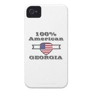 100% Amerikaner, Georgia iPhone 4 Case-Mate Hüllen