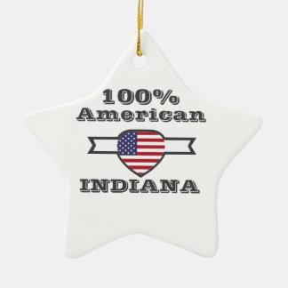 100% Amerikaner, Indiana Keramik Ornament