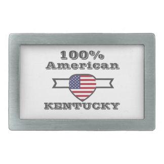 100% Amerikaner, Kentucky Rechteckige Gürtelschnalle