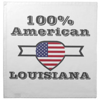 100% Amerikaner, Louisiana Serviette