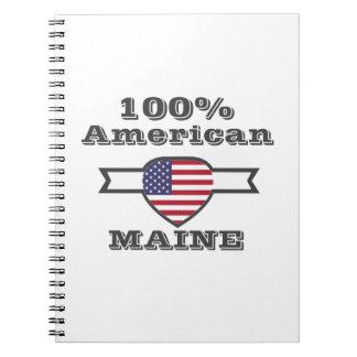 100% Amerikaner, Maine Notizblock
