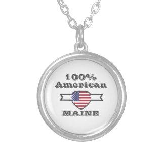 100% Amerikaner, Maine Versilberte Kette