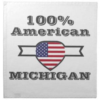 100% Amerikaner, Michigan Stoffserviette