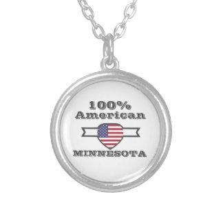 100% Amerikaner, Minnesota Versilberte Kette
