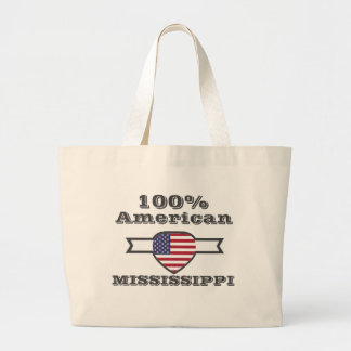 100% Amerikaner, Mississippi Jumbo Stoffbeutel