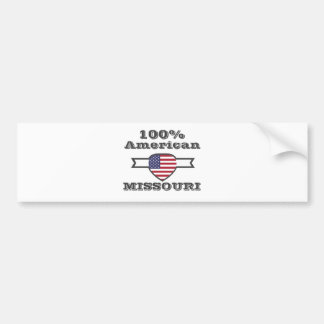 100% Amerikaner, Missouri Autoaufkleber