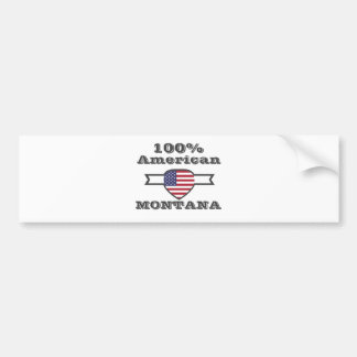 100% Amerikaner, Montana Autoaufkleber
