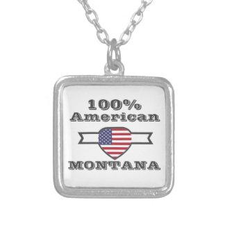 100% Amerikaner, Montana Versilberte Kette