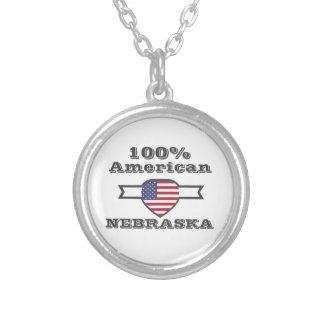 100% Amerikaner, Nebraska Versilberte Kette