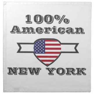 100% Amerikaner, New York Serviette