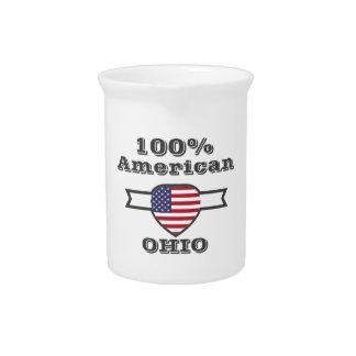 100% Amerikaner, Ohio Getränke Pitcher
