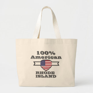 100% Amerikaner, Rhode Island Jumbo Stoffbeutel