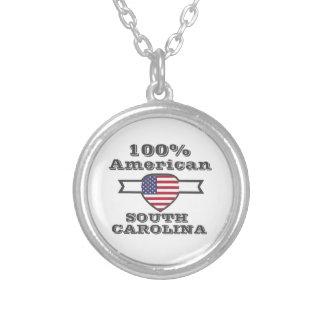 100% Amerikaner, South Carolina Versilberte Kette