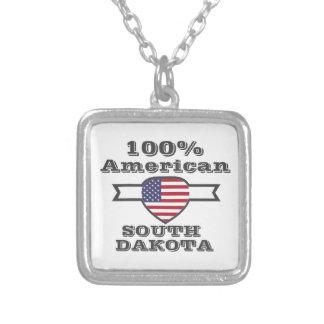100% Amerikaner, South Dakota Versilberte Kette