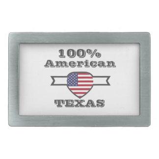 100% Amerikaner, Texas Rechteckige Gürtelschnalle