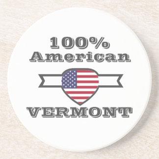 100% Amerikaner, Vermont Getränkeuntersetzer