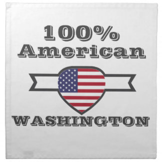 100% Amerikaner, Washington Serviette
