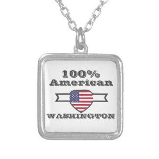 100% Amerikaner, Washington Versilberte Kette