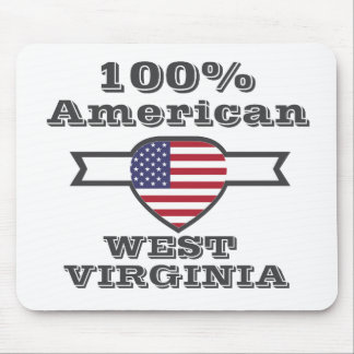 100% Amerikaner, West Virginia Mousepad