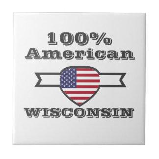 100% Amerikaner, Wisconsin Keramikfliese