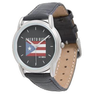 100 Boricua: Puerto Rico Uhr