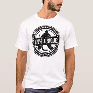 100% einzigartiger Hockeygoalie-T - Shirt mit