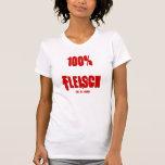 100% Fleisch, -los glücklich T-Shirt