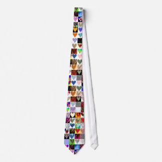 100 Herz-Krawatte Krawatte
