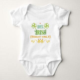 100% Iren heute Baby Strampler
