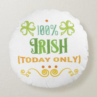 100% Iren heute Rundes Kissen