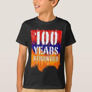 100 Jahre stärkere armenische Jugend-T - Shirt- T-Shirt
