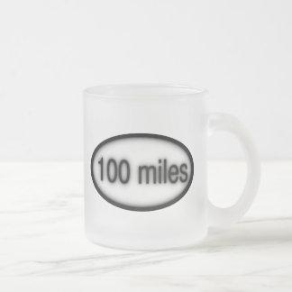 100 Meilen Mattglastasse
