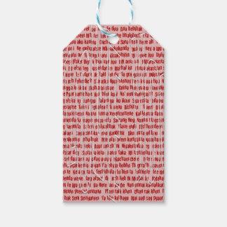 100 Möglichkeiten, i-Liebe zu sagen Sie Geschenkanhänger