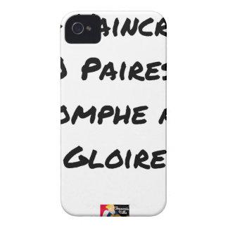 100 PAARE ZU BESIEGEN TRIUMPHIERT ER MIT EHRE iPhone 4 HÜLLE