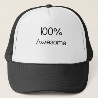 100 Prozent Awesome.png Truckerkappe