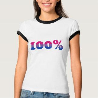 100 Prozent bisexuell T-Shirt