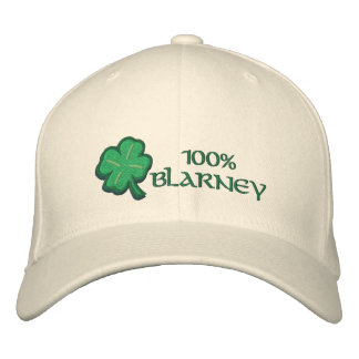 100 Prozent Geschwätz-Iren- Bestickte Baseballkappe