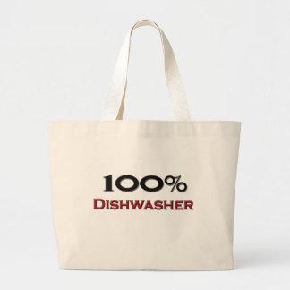 100 Prozent-Spülmaschine Einkaufstaschen