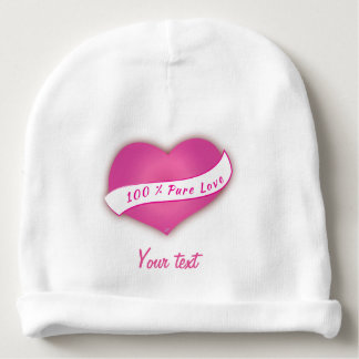 100% reine Liebe Babymütze