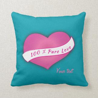 100% reine Liebe Kissen