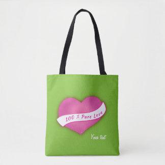 100% reine Liebe Tasche