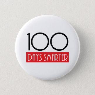 100 Tage intelligenter Runder Button 5,1 Cm