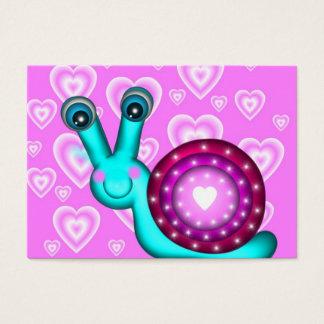100 Valentinsgruß-Schnecke-Karten Visitenkarte