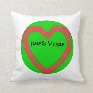 100% veganes Kissen